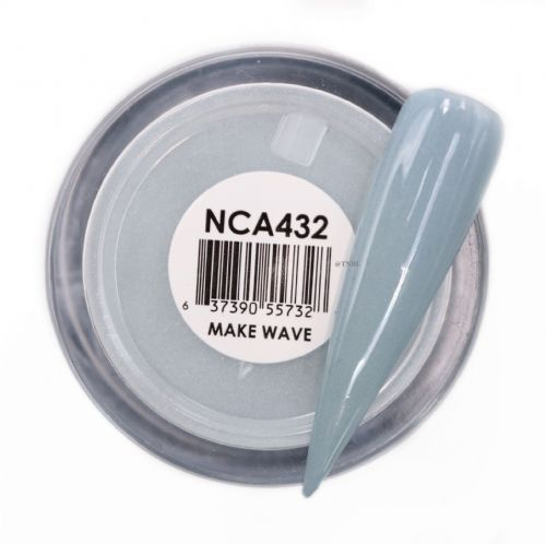GLAM AND GLITS NAKED COLOR ACRYLIC - NCAC432 MAKE WAVE